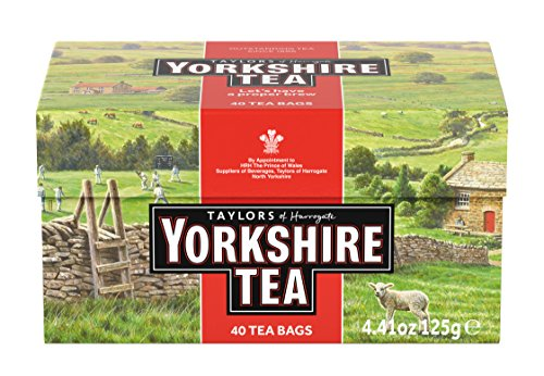 Taylors of Harrogate Yorkshire Red, 40 Teabags, (Pack of 5)