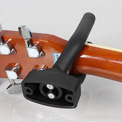 Gancho de pared para guitarra, soporte antideslizante para guitarra, bajo, ukelelele, múltiples instrumentos musicales: Amazon.es: Instrumentos musicales