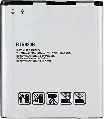 New 2020 mAh BTR930B Replacement Battery for Pantech Perception R930L (BELTRON BLT-BTR930B)