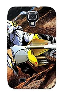 Crazinesswith Shock-dirt Proof Suzuki Rmz450 Case Cover Design For Galaxy S4 - Best Lovers' Gifts