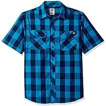 Dickies Men's Short-Sleeve Gingham Shirt
