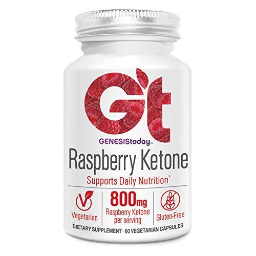 Genesis Today, Raspberry Ketone 800mg, 60 Count by Genesis Nutrition