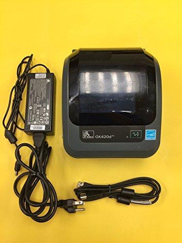 ZEBRA TECHNOLOGIES GK42-202510-000 / GK420 DT 203DPI EPL/ZPL II USB by Zebra Technologies