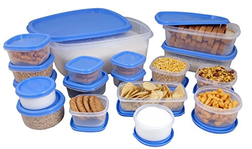 Princeware SF Package Container Set 18-Pieces Blue