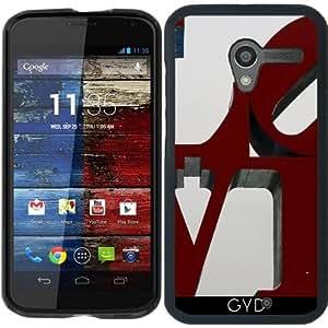 Funda para Motorola Moto X (Generation 1) - Amor by Christine aka stine1