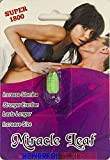 1 Pack Miracle Leaf Super 1800 The Ultimate Male Enhancement 72 Hours