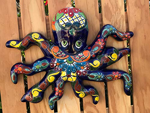Talavera Ceramic Octopus 17