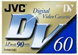 JVC - Digital Video Cassette - M-DV60ME - Blank Mini DV - 90 Mins - 3 Pack