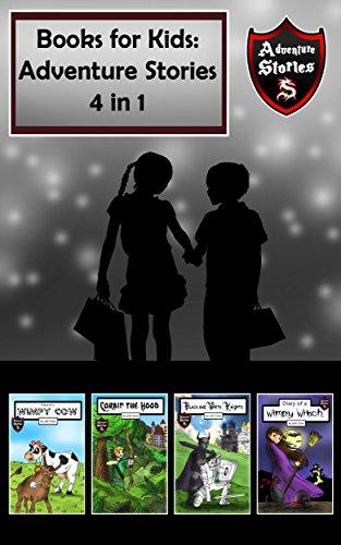 Books for Kids: Adventures for Children (Kids' Adventure Stories 4 in (Halloween 1-8 Box Set)