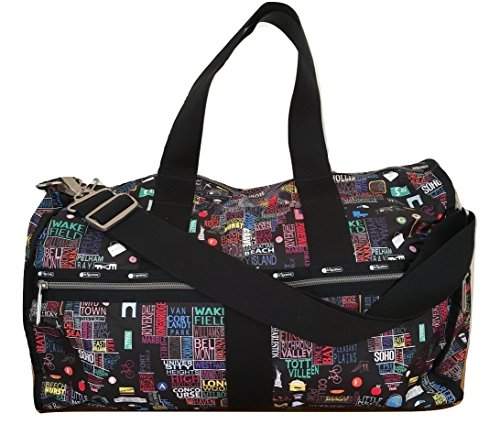 LeSportsac Empire State C NYC Exclusive Collection CR Large Weekender