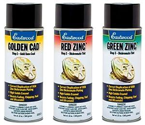 Cadmium Look Spray Paint