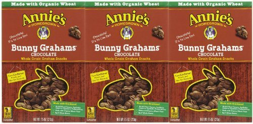 - Annie's Homegrown Chocolate Bunny Grahams - 7.5 oz - 3 pk by Annie's Homegrown