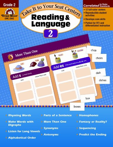 Download Take It to Your Seat Reading and Language Centers, Grade 2 ebook