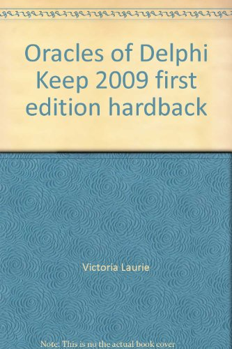 Oracles of Delphi Keep 2009 first edition hardback