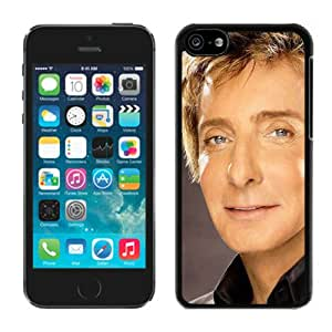 Barry Manilow Face Eyes Suit Shirt Black Durable Hard Shell iPhone 5C Phone Case