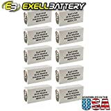 10pc Exell 412A Alkaline 22.5V Battery NEDA 215, 15F20, BLR122