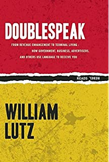 politics and the english language and other essays paperback doublespeak