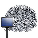 200 LED Solar String Lights, Litom Outdoor Solar Decor Powered Lights with 72 ft Super Long String and 8 Working Modes, Waterproof Ambiance Lighting for Patio, Lawn, Home, Wedding, Christmas Party