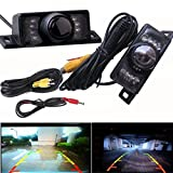 Cheap Bolayu Night Vision Parking Car Wide Angle LED Reversing Rear View Backup Camera
