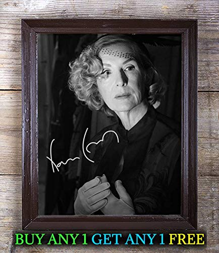 Conroy Signed - Frances Conroy American Horror Story Autographed Signed 8x10 Photo Reprint #08 Special Unique Gifts Ideas Him Her Best Friends Birthday Christmas Xmas Valentines Anniversary Fathers Mothers Day