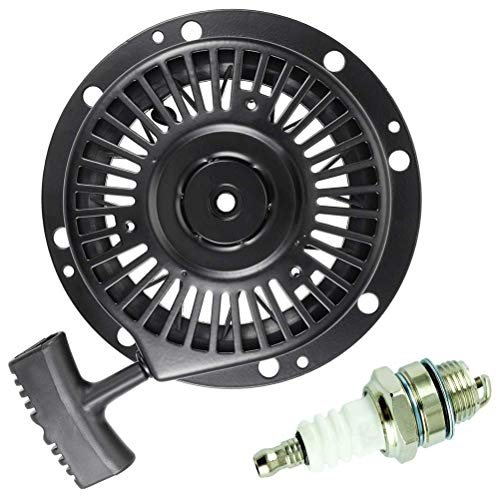 (TOPEMAI 590788 Recoil Pull Starter Replace Tecumseh 590746 590748 590704 for Tecumseh HM80 HM100 OHH60 4 Cycle Engine)