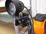 "ATV Adjustable 3/4"" - 1"" Rack or Handlebar Clamp"