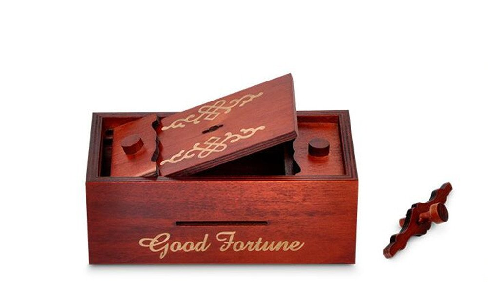 Magic Box Wooden Puzzle Box Special Unique Gift Box by ONE ADD ONE (Image #4)