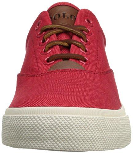 Polo Ralph Lauren Mens Vaughn Cordura Sneaker Rouge