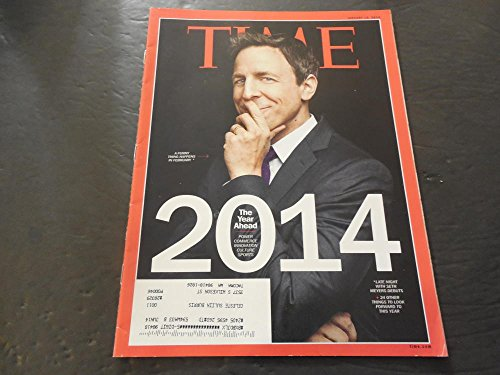 Time Magazine Jan 1 2014, 2014 The Year Ahead