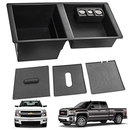 Center Console Organizer Tray for 2014-2018 Silverado Sierra Tahoe Suburban Yukon,Replaces GM OEM Part 22817343 ()