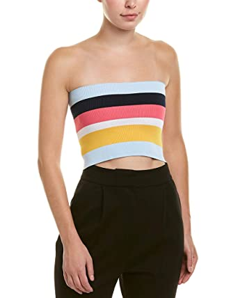 a45cca2b55a2b Image Unavailable. Image not available for. Color  Tibi Womens Tube Corset  Top ...
