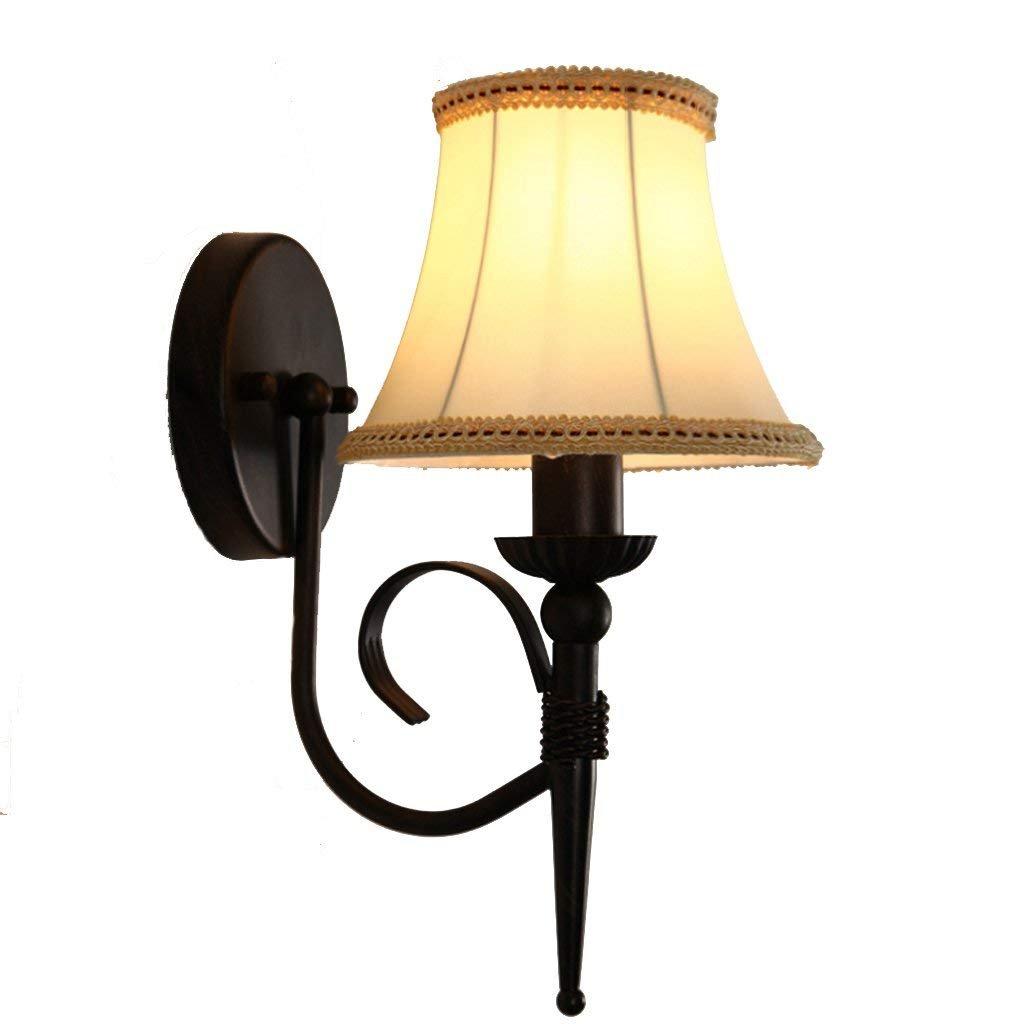 Modern Fashion Tuch Wandleuchte Hintergrund Wand kreativ home Wand lampe licht Flur Schlafzimmer Nachttisch Lampen