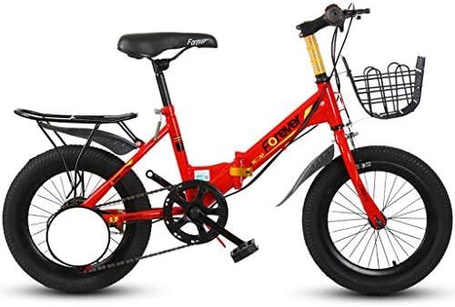 Bxiao Bicicleta de montaña para niños 16 Pulgadas Bicicleta de 20 ...