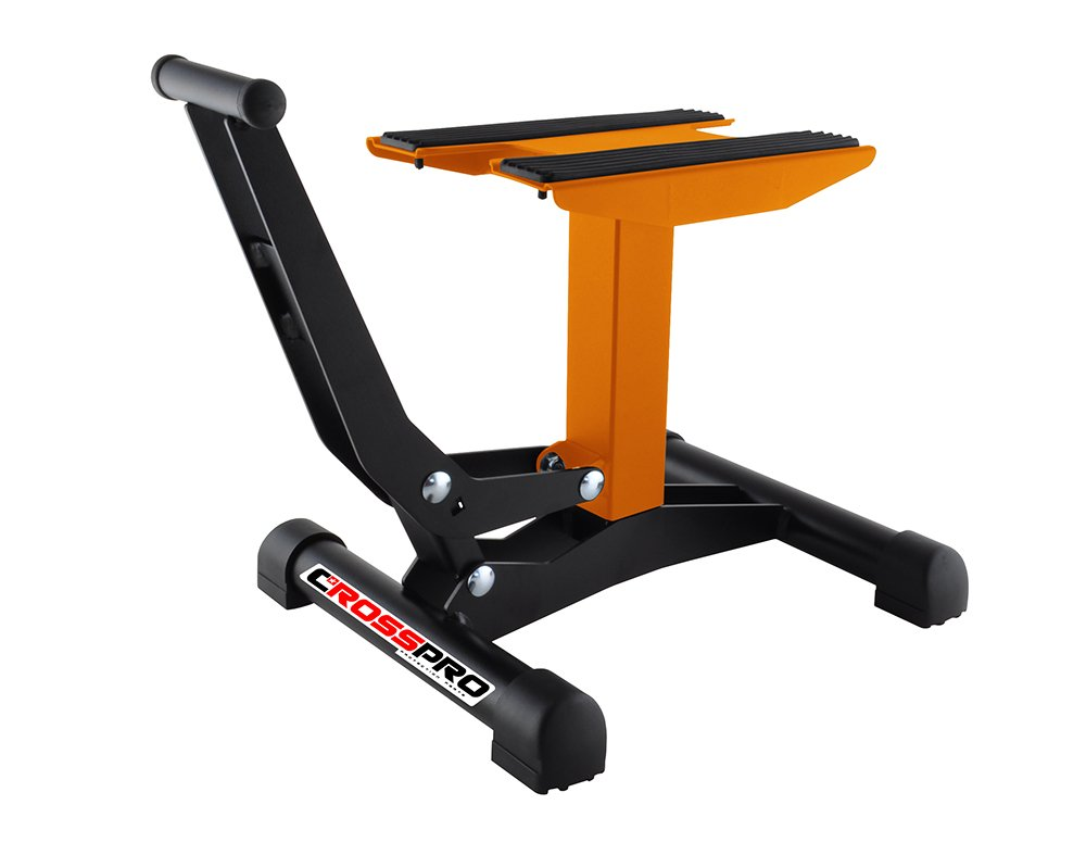 CROSSPRO - Caballete elevador Bike Stand Xtreme Naranja