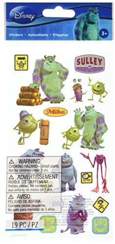 Disney/Pixar Monsters, Inc. Sticker (Monsters Inc Logo Sticker)