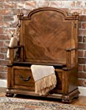 "Powell ""Wilmington Cherry"" & Burl Entry Bench with Storage Review"
