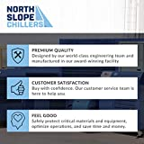 North Slope Chillers - NSC0250-FROST 1/4 Ton/HP