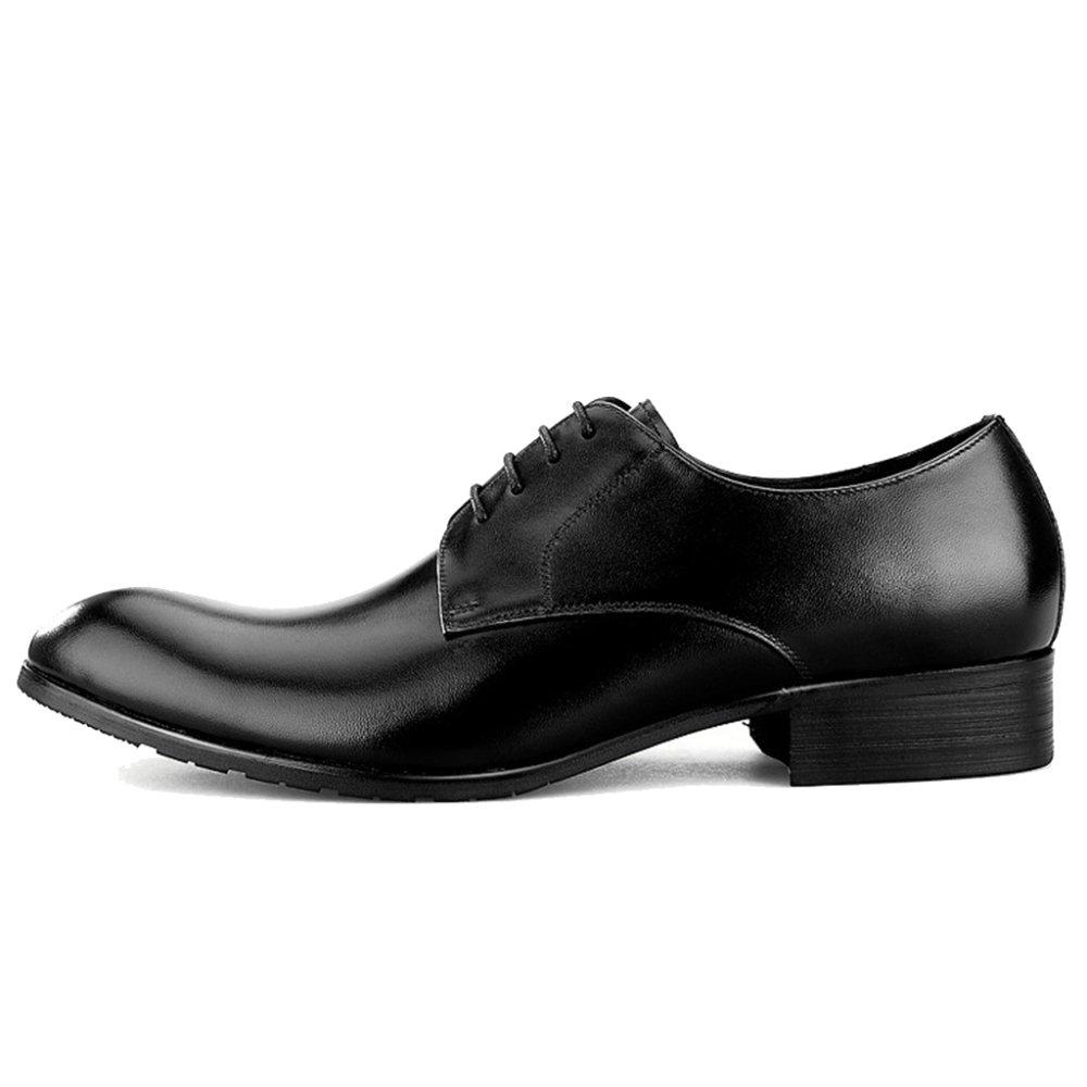 MERRYHE Round Toe Echtes Leder Derby Formale Kleid Schuhe Klassische Lace-ups Party Hochzeiten Arbeit Business Schuh Für Väter Geschenke