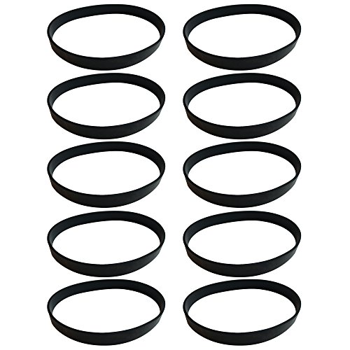 Think Crucial 10 Replacement Dirt Devil Style 4, 5 & 10 Drive Belts, Compatible With Part # 1540310001, 3720310001 & (Style Belt Drive)
