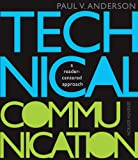 Bundle: Technical Communication, 7th + English CourseMate with EBook Printed Access Card : Technical Communication, 7th + English CourseMate with EBook Printed Access Card, Anderson and Anderson, Paul V., 1111490945