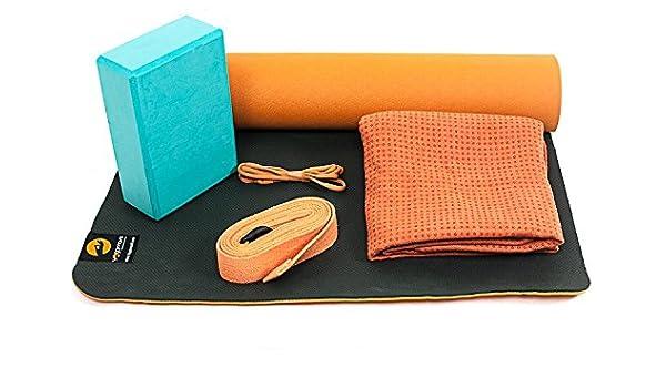 Yogamasti Svadhisthana Kit dentraînement de yoga Orange + ...