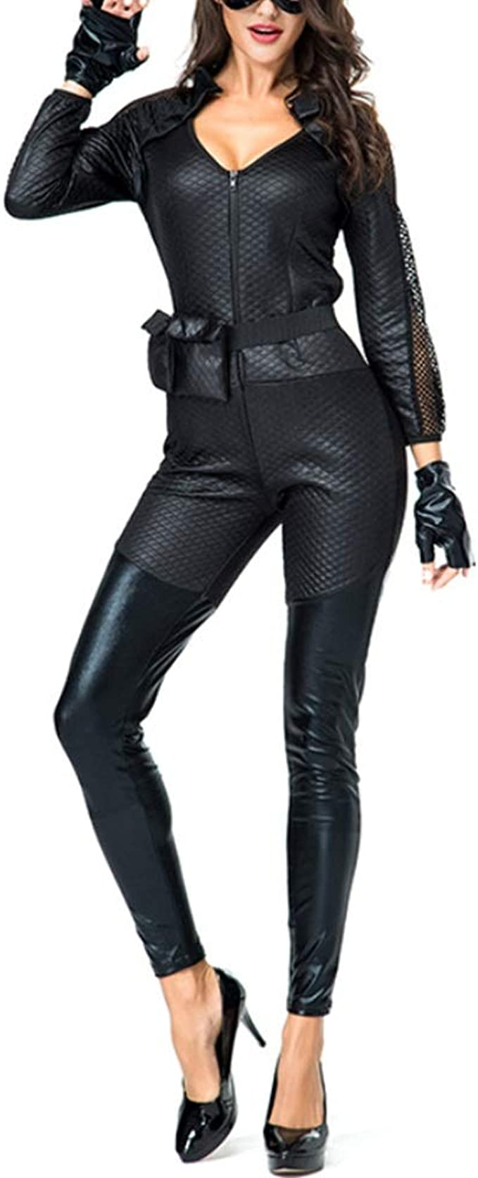 Mitef Fiesta De Halloween Carnival Dark Knight Disfraz De Catwoman ...
