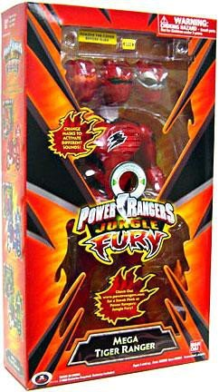 Power Rangers Jungle Fury - Mega Tiger -