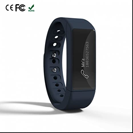 Bluetooth 4.0 Intelligente braccialetto Orologio Da Polso Contapassi Band Calorie Fitness Tracker