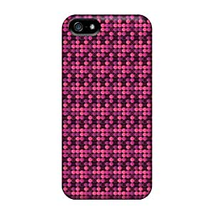 New Pink Circles Tpu Cover Case For Iphone 5/5s by icecream design