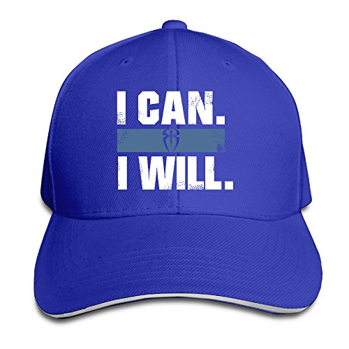 NUBIA Roman Reigns I Can I Will Outdoor Hat Adjustable Hat ()
