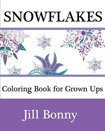 SnowFlakes Coloring Book For Grown Ups Christmas Adult