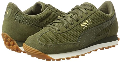 Adulte Natural Easy gold White whisper Vert Puma Sneakers