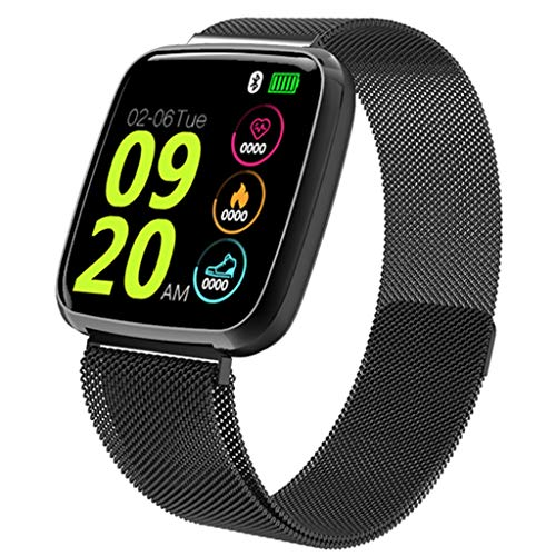 VICCKI Smart Watch Android iOS Sports Fitness Calorie Wristband Wear Smart Watch (A, One Size)