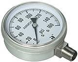 Zenport APG160 Zen-Tek Ammonia Gas Pressure Gauge, 160 PSI